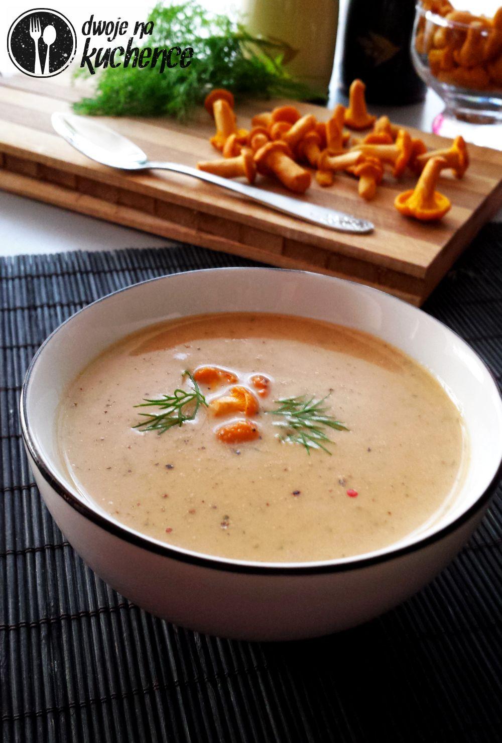 Najprostsza zupa kurkowa