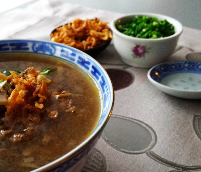 Chińska zupa pikantno-kwaśna (Suan La Tang)