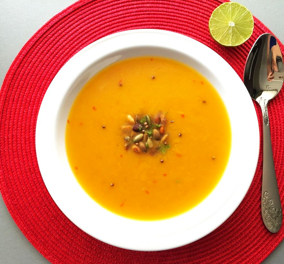 Zupa krem z dyni (przepis z Top Chef)